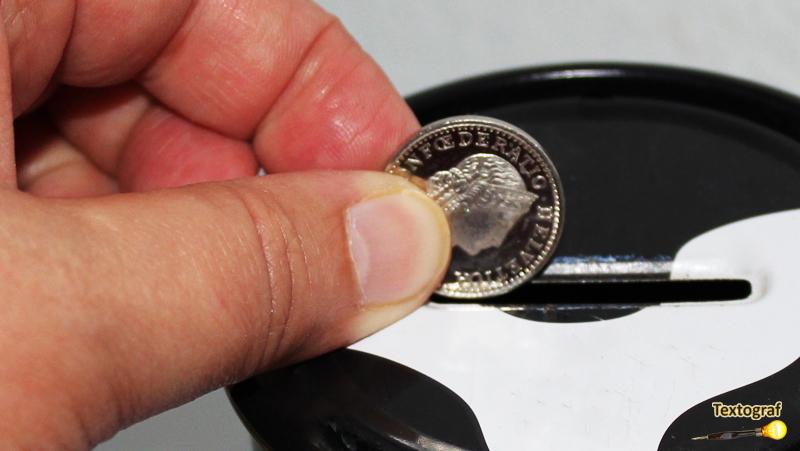 Die Kleingeld-Belohnungskasse