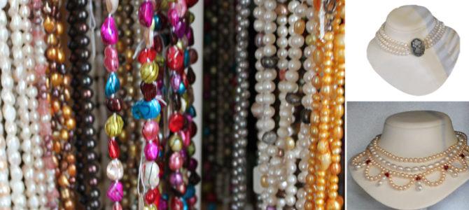Perlen  – Perlenschmuck selber knüpfen lernen – Kurse im Aargau